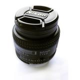 Lente Nikon 50mm F/1.4a Af. Casi Nuevo. Con Su Caja Original