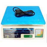 Peso Electrónico Charcutero Digital 40 Kg Batería Recargable