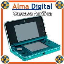 Carcasa Acrilico Nintendo 3ds Estuche Protector Forro 3d