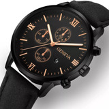 Reloj Geneva Asiatico Caballero Correa Casual Importado