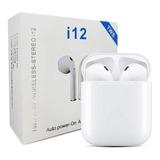 Audífonos Inalambricos Tws I12 Bluetooth 5.0 Tipo AirPods