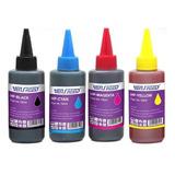 2 Tinta Dye Para Hp 100 Ml Combo De 2 Colores