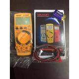 Tester Mutimetro Digital Yaxun Yx 9205a+oferta