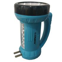 Linterna Recargable Led Lampara Doble Funcion Lumen 200m