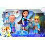 Juguetes Frozen Set 5 Personajes Elsa Anna Olaf Muñecas Niña