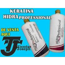 Kit Keratina Hidra Profecional De Litro