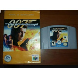 007 The World Is Not Enough N64 Impecable