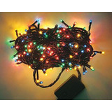 Luces De Navidad Multicolor Y Blanca Tipo Arrocito