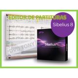 Editor De Partituras Sibelius 8 Español Pc En Digital