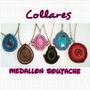 Collares Medallon Soutache ! Al Mayor Y Al Detal !