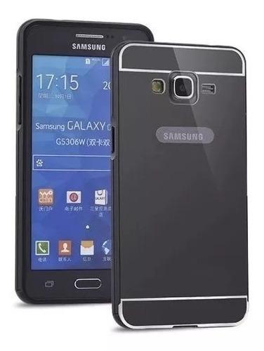 14bf39f73b6 Forro Aluminio Samsung Galaxy Grand 2 Incluye Vidrio Templad