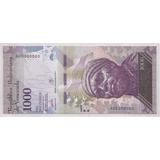Prueba Billete 1000 Bolivares Marzo 23 2017 Unc Om1