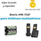 Pila | Bateria Hhr-p107 | 3.6v | Telefonos Inalambricos