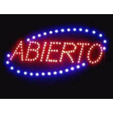 Avisos Led Luminoso Abierto (personalizado) *tienda Física*