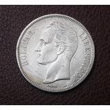 Moneda Fuerte De Plata De 1901 En Perfecto Estado Xf