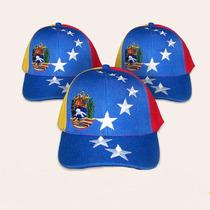 Gorras Tricolor De Venezuela Unisex,cierre Solo Envios.