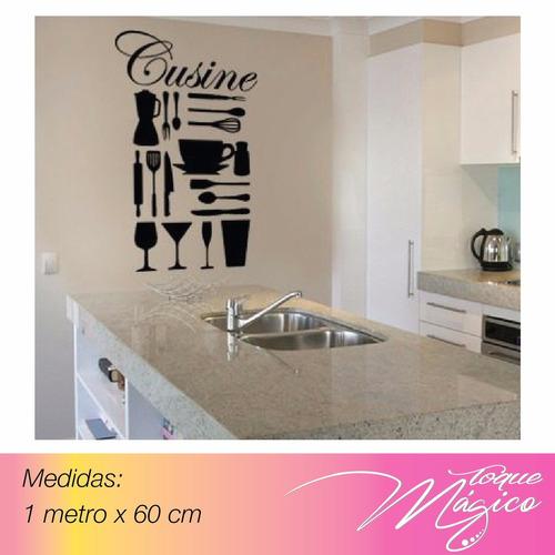 Vinilos decorativos hogar oficina paredes cocina bs tqew4 precio d venezuela - Vinilos decorativos precios ...