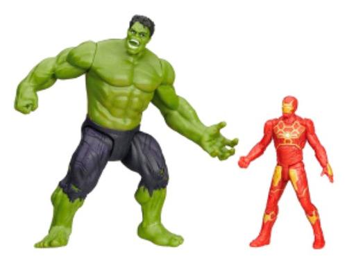Muñeco Hulk E Iron Man Avengers Originales Hasbro bf047b8a5f5fd