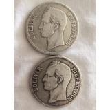 Monedas Coleccion Venezuela Fuerte Año 1889 1936
