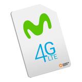 Línea Movistar Corporativa 4g Internet Plan 20 Gb - 2000 Min