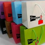 ##bolsa Boutique Personaliza Carton Tipo Kraft O Plastico##