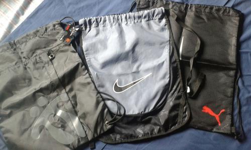 Bolsos Tula Originales Marca Nike, Puma Y Totto