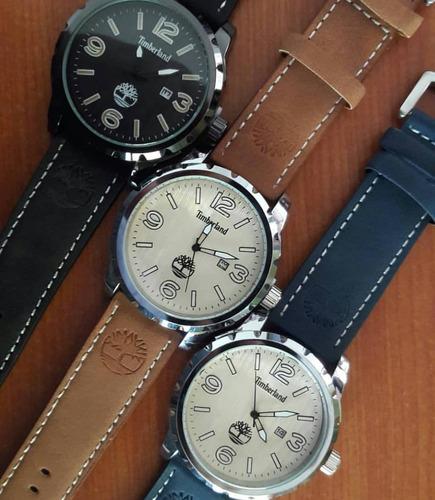 75d2cb76e13a Relojes Timberland Correa De Cuero Modelos Nuevos