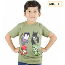 Franela Niño Momo Kids Verde Super Heroes Detal Mayor en venta en ... c744946ee93
