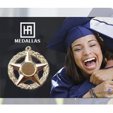 Hv Medallas 5 Puntas + Antorcha Graduación Bachiller