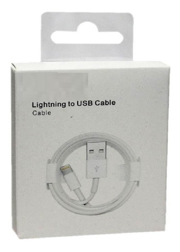 887c51ad05e Cable Usb iPhone 5 5c 5s 6 6s 7 Certificado 100% Caja Xtc