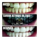 Blanqueador Dental Carbón Activado De Coco