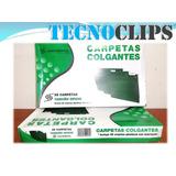 Carpeta Colgante Color Verde  Tamaño Oficio Caja * 25 Unids