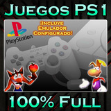 Juegos De Ps1 Completos Con Emulador Incluido, Envio X Links