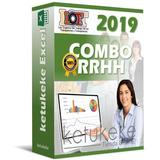 Combo Rrhh 2019 Nomina Calculos Salariales Lottt Excel
