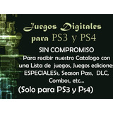 Juegos Digitales Licencia Lego Ps3 Play Station Dlc Catalogo