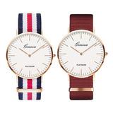 Reloj Geneva Dama Variedad Colores Mayor Y Detal