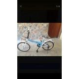Bicicleta Rin 20 Plegables Y Sifrinas