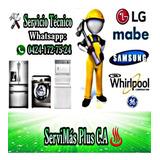 Servicio Técnico Neveras Lavadoras Mabe Electrolux Whirlpool