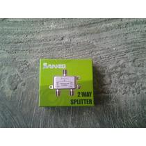 Splitter O Divisores 2 Way 5-2500mhz Original Movistar Tv