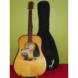 Guitarra Fender Dg-8s Con Detalle + Forro + Correa + Cuerdas