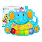 Piano Musical Steam Para Bebé Juguete Interactivo Luces Toy