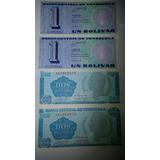 Billetes Tinoquitos 1989. Unc Sin Circular. Consecutivos