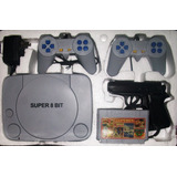 Nintendo+juegos+2 Controles+pistola++cassette Envio Gratis