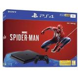 Playstation 4 Ps4 Slim 1tb Spiderman Ps4 Edicion Spiderman