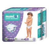 Pañales Bebe Mimlot Talla Xg - Por Bulto