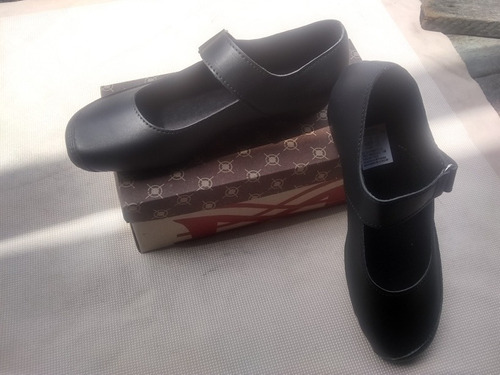 c4483260 Zapatos Colegiales Escolares Oficina Niñas Y Dama