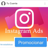 Promocione Su Cuenta Publicidad Instagram Ads -somos Oficina