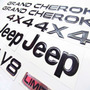 Emblemas Jeep Grand Cherokee Limited Camioneta Repuesto Jeep Grand Cherokee