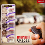 Batería Pila Cr2032 Y Cr2016 3v Maxell (1 Unidad)