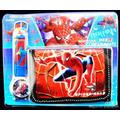 Reloj  Niño Spiderman Y Despicable Me Juguetes+billetera
